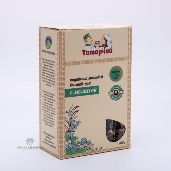 Чай индийский листовой с мелиссой