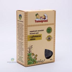 Чай индийский листовой с цветками липы