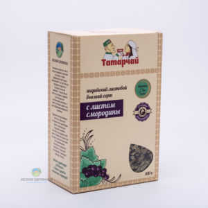 Чай индийский листовой с листьями смородины
