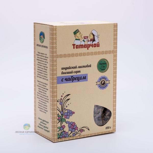 Чай индийский листовой с чабрецом