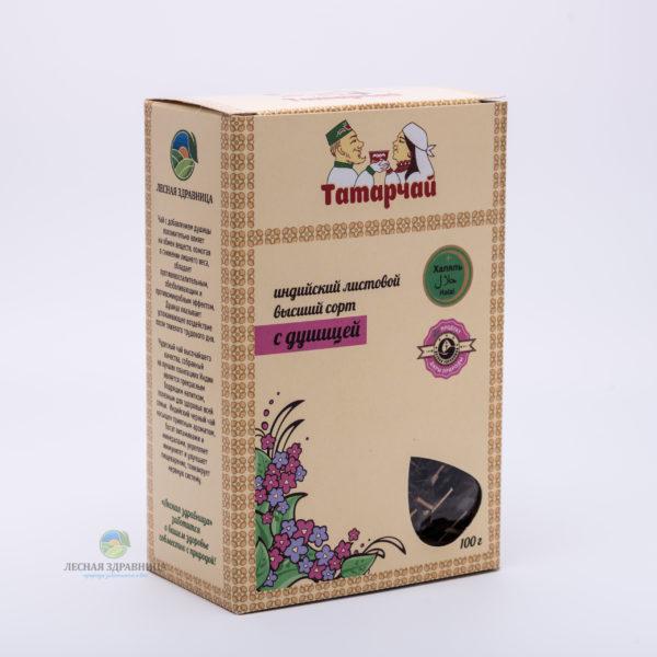 Индийский листовой чай с душицей